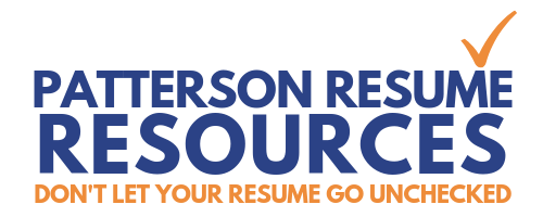 Patterson Resume Resources